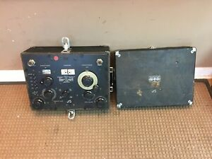Vintage General Radio Co Twin T Impedance Measuring Circuit Meter 821 a