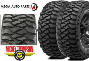 2 Mickey Thompson Baja Mtz P3 Lt285 75r16 126q E Owl All Terrain Mud Tires