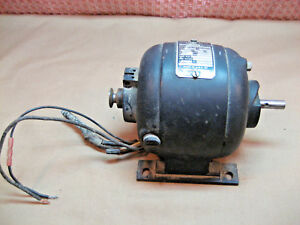 Ge Teletype Small Electric Motor Model 5ba65aa77a 1 25hp 110v Type Ba Rpm 1800