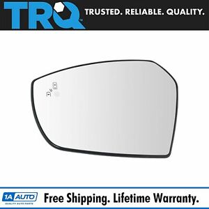 Mirror Glass Blind Spot Indicator Driver Side Left Lh For Ford Escape New
