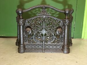 Antique Cast Iron Fireplace Tidy Betty Hearth Guard Surround
