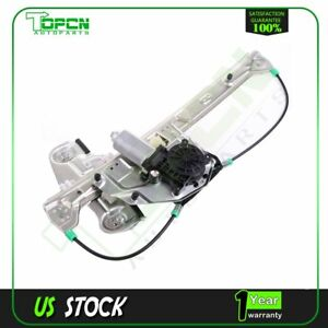 Power Window Regulator Fits 2000 05 Cadillac Deville Rear Driver Side W Motor