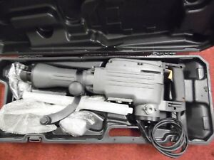 Tr Industrial Tr89100 Electric Demolition Jackhammer With Flat And Spade