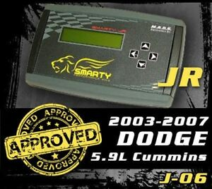 Mads Smarty Jr Tuner Pod J 06 For 03 07 Dodge Cummins 5 9l