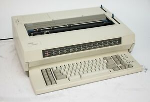 Ibm Lexmark Wheelwriter 1500 Electric Typewriter no Ribbon