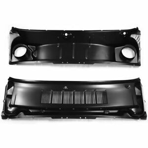 Golden Star Cp20 65 Cowl Grille Panel Assembly 1965 1966 Mustang 2 Pcs