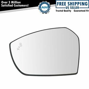Mirror Glass Blind Spot Indicator Heated Driver Side Left Lh For Ford Escape New