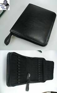 Kaweco Fountain Pen Holder Leather Wallet Presentation Folder For 20