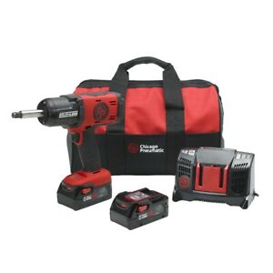Chicago Pneumatic 8941088497 1 2 Cordless Impact W 2 Anvil Kit 6ah Version