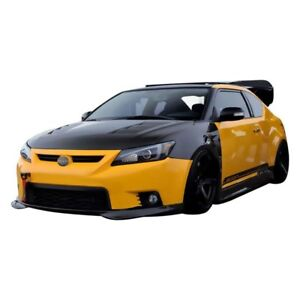 For Scion Tc 2011 2012 Seibon Tr style Gloss Carbon Fiber Side Skirts