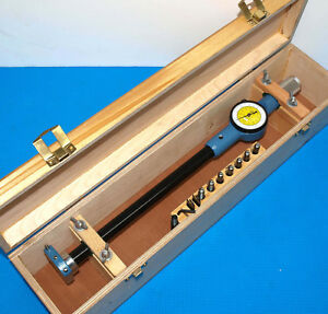 Dorsey 3 09 8 Standard Gage Style 5 Bore Gage With Inch metric Dial Indicator