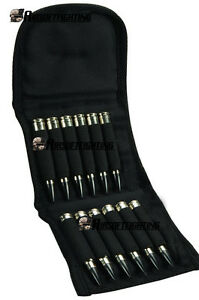 Rifle Cartridge Case with Belt Loop Bullet Holder Pouch .308 .243 .223 Carrier