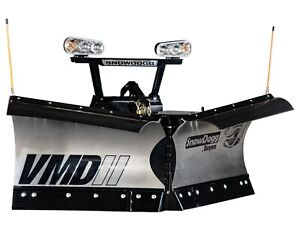 Snowdogg buyers Products Vmd75ii Snow V plow 90 Blade Width
