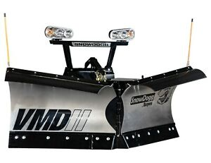 Snowdogg Buyers Products Vmd75 Snow V Plow 90 Blade Width