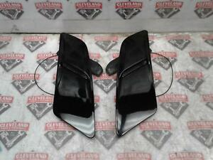 2015 2017 Ford Mustang Gt Oem Set Of Hood Scoops Black Left Right
