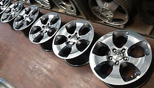 2003 2004 2005 Jeep Grand Cherokee 18 Factory Oem Alloy Wheels Rims 9119 9119c