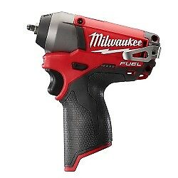 Milwaukee Electric Tools 2452 20 M12 Fuel 1 4 Impact Wrench bare Tool