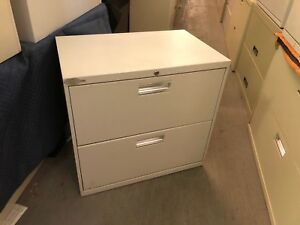 2dr 30 w X 19 d X 28 h Lateral File Cabinet By Hon Office Furniture W Lock