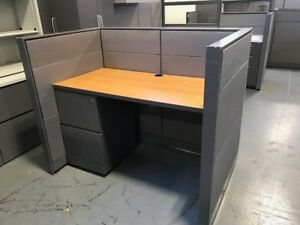 Lot Of Steel Case Knoll Office Telemarketing Call Center Cubicle Wholesale