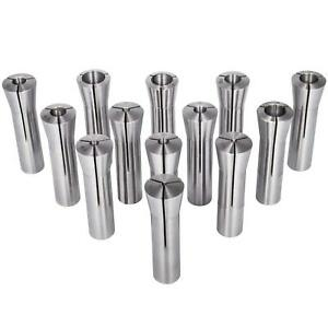 Danti 13pcs Precision R8 Collets Set 1 8 7 8 Mill Chuck Holder For Bridgeport