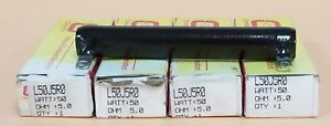 Lot Of 4 Nib Ohmite L50j5r0 Resistors 5 Ohm 50w