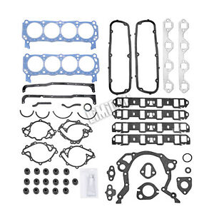 Head Gasket Set For 62 85 Small Block Ford 260 289 302 Windsor Sbf 2 0 4 7l 5 0l