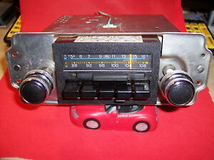 Vintage Ford Radio Am Fm Stereo 79 84 Car Truck Mustang Torino Serviced Working