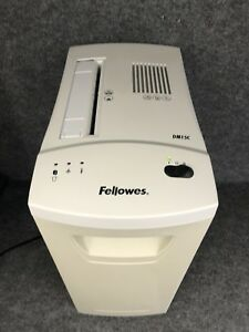 Fellowes Dm15c Confetti Paper Shredder 15 Sheet Staples Paperclips Cd s