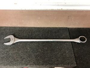 Snap On Tools Large Sae Combination Wrench 1 7 8 Oex60 12pt Tubular