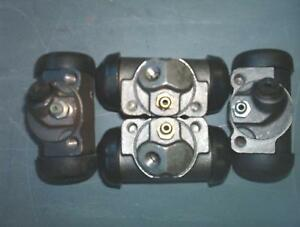 Wheel Cylinders Mercury Lincoln Thunderbird Front Rear 1949 1960 4 Cylinders