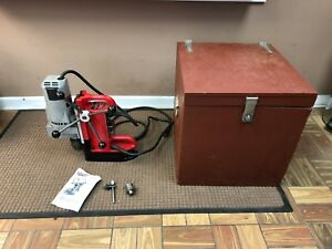 Milwaukee 4202 3 4 Electromagnetic Mag Magnetic Drill Press W 4262 1 Motor
