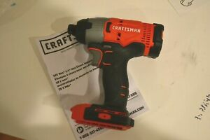 New Craftsman Cmcf800 V20 Cordless 14 Hex Impact Driver 20 Volt Tool Only