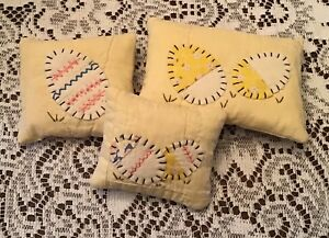 Primitive Easter Egg Pillow Bowl Fillers Ornies