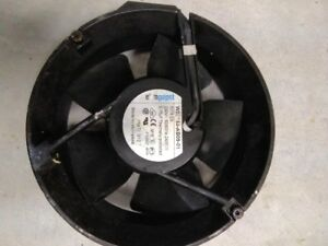 Autofry 7 Exhaust Fan 240v ebm papst W2e143 ab09 01 Used Tested