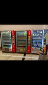 Huge Combo Vending Machine For Sale In Great Condition And Colorfully Wrapped