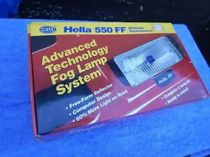 Hella 550 Ff Fog Lights Lamps Complete Kit Nos New In Box Off Road