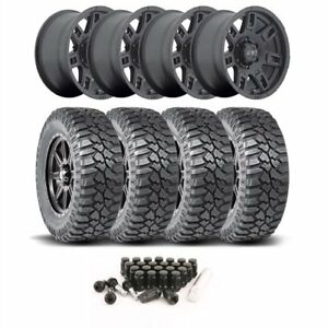Mickey Thompson 3058421k34 Jeep Wheel And Tire Kit 1987 2006 Wrangler Yj tj 1984