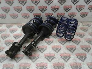2011 2014 Ford Mustang Gt Coupe Front Struts W H r Lowering Rear Coil Springs