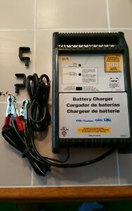 Napa 10 Amp Fast Charge Battery Charger Automatic Shut off Dual Charging New