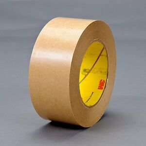 3m 465 Adhesive Transfer Tape 465 Clear 2 1 2 In X 60 Yd 2 0 Mil