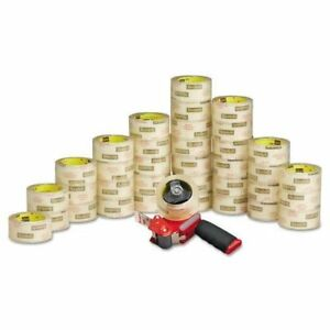 3750 6 Scotch Commercial Grade Packaging Tape 48mm X 50m 6 pkg 6 Pks
