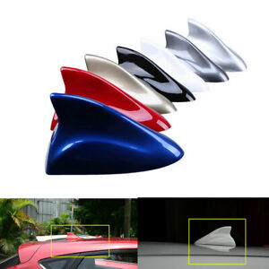 Car Auto Special With Radio Shark Fin Antenna Aerial Fm Am Signal Universal Blue