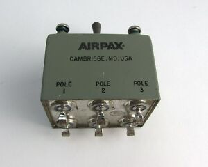 Airpax M39019 5 60 Aircraft Circuit Breaker