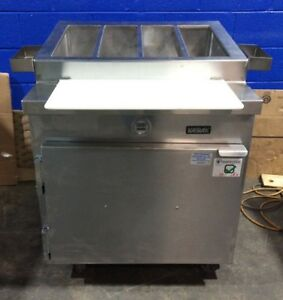 Kairak Krp 32s Stainless Steel Refrigerated Pizza Sandwich Prep Table