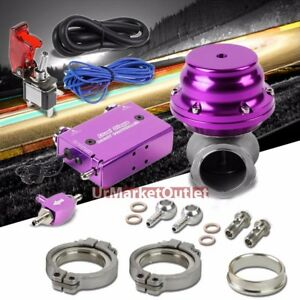 Purple Dual Stage Electronic Turbo Boost Control purple 14psi External Wastegate