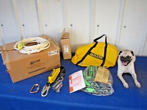 New Miller Roof Anchor Kit Roofing Fall Protection Ra10 25ft Size Unversal