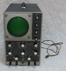Heathkit Model 10 12 Laboratory Oscilloscope Vintage