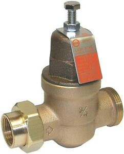 New Cash Acme Eb 45u 3 4 Water Pressure Reducing Valve Regulator 6357974