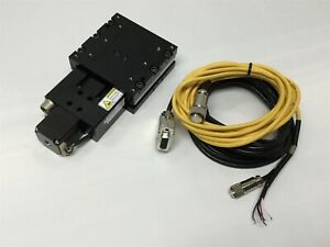 Parker Mx80s Miniature Leadscrew Linear Positioner Motor Stage Table 50mm Travel