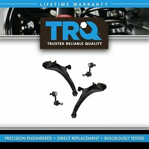 Front Suspension Kit Front Lower Control Arms Sway Bar End Links 4pc New